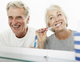 caring for dental implants