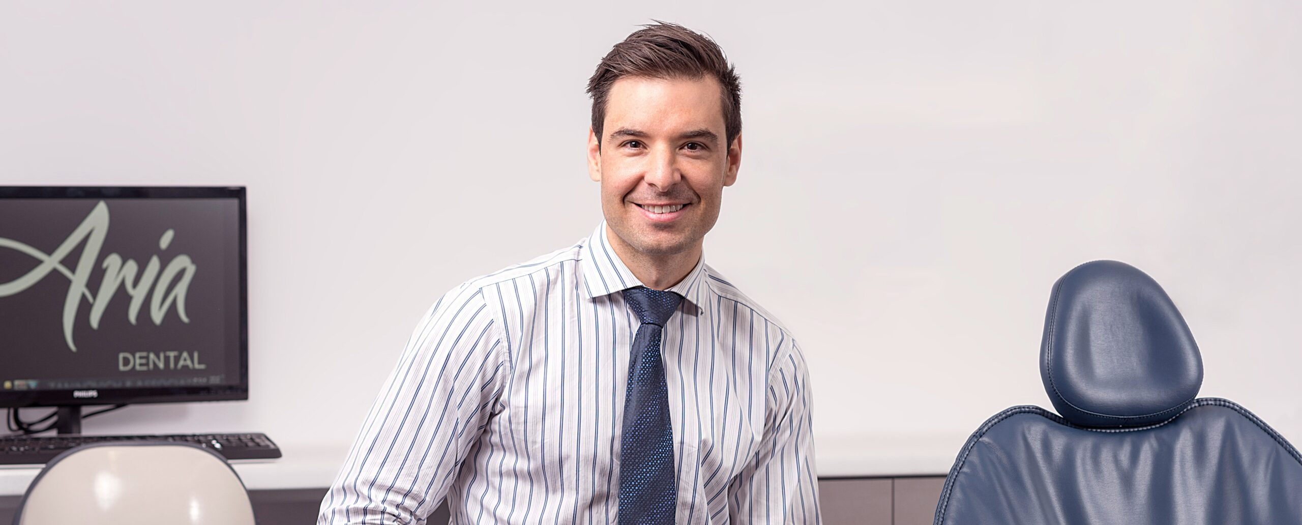 Dr Michael Zaninovich – leading prosthodontist at Aria Dental, Perth